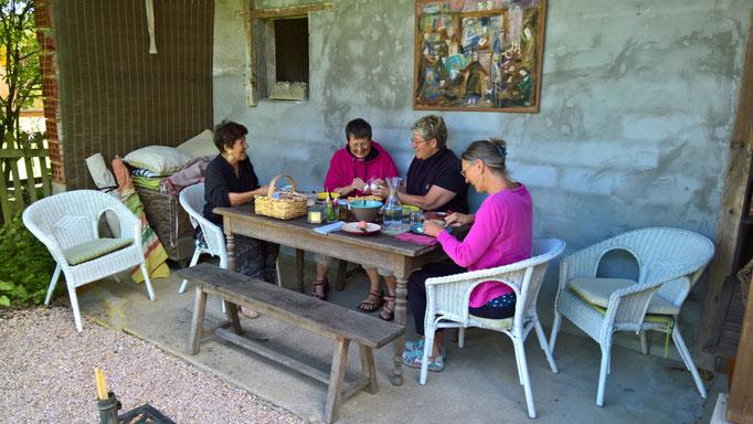 Besuch von ehemaligen Gästen