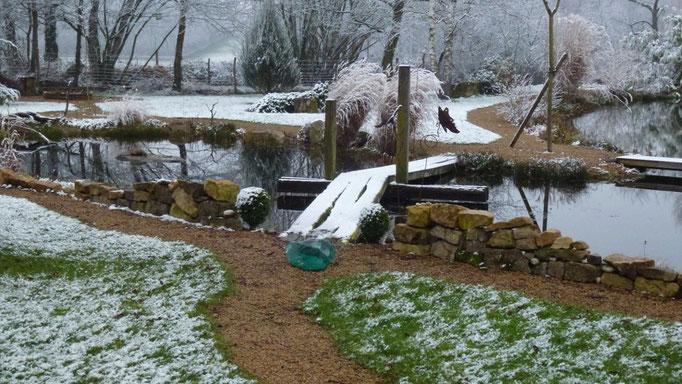 ein bischen Schnee im Januar