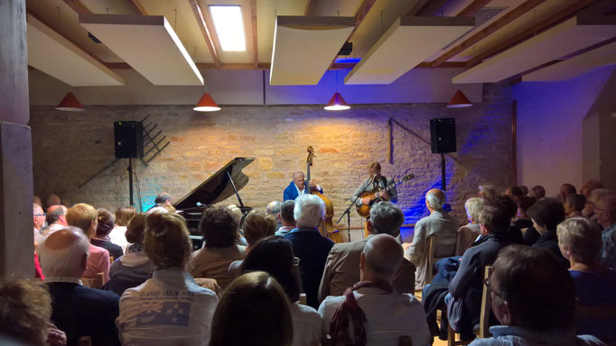 Jazz-Swing-Abend in Chapaize