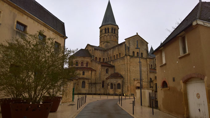 Die Basilika in Paray-le-Monial