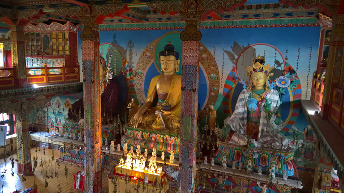 Le temple de mille buddhas in La Boulaye