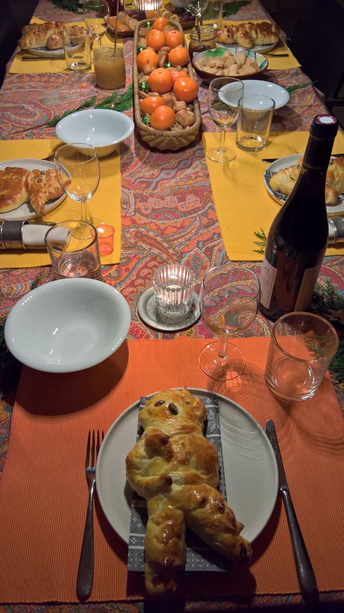 Samichlaus-Essen bei Barbara
