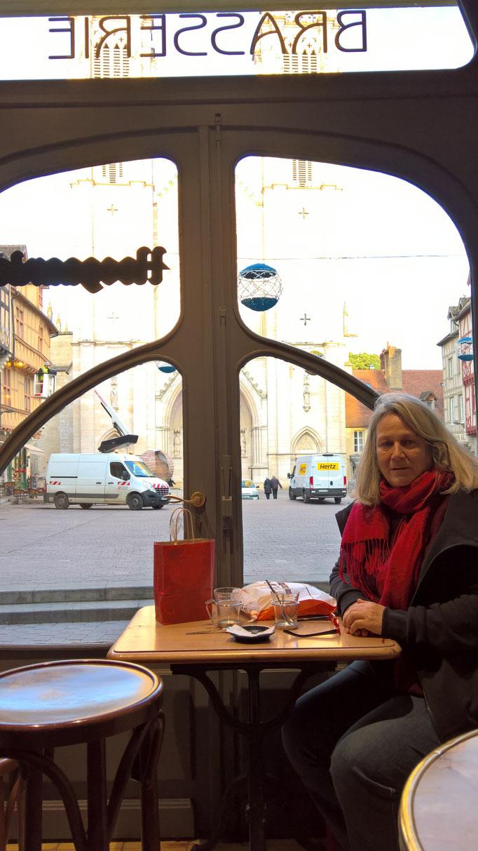 Letzter Ausflug mit Angela nach Chalon