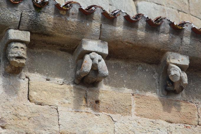 Les gargouilles de St Jean de Côle