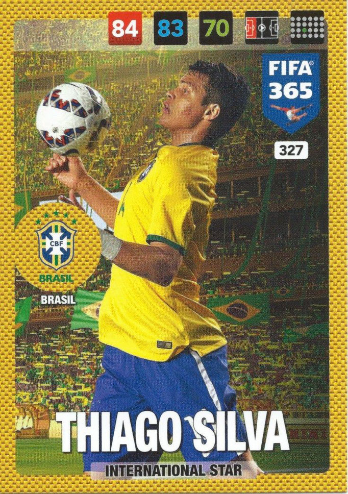 N° 327 - Thiago SILVA (Brésil) (International Star)