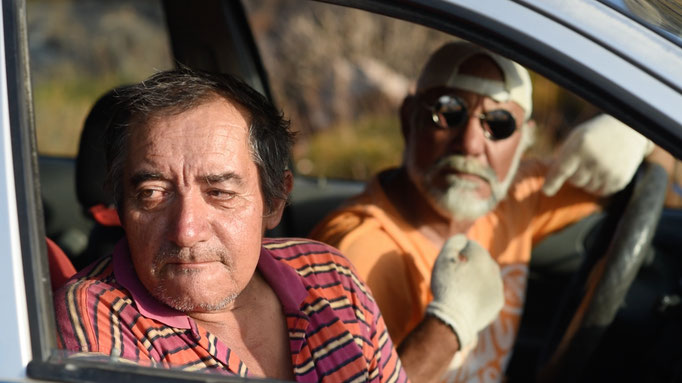 Old Georgos and the Blind Taxi Driver.