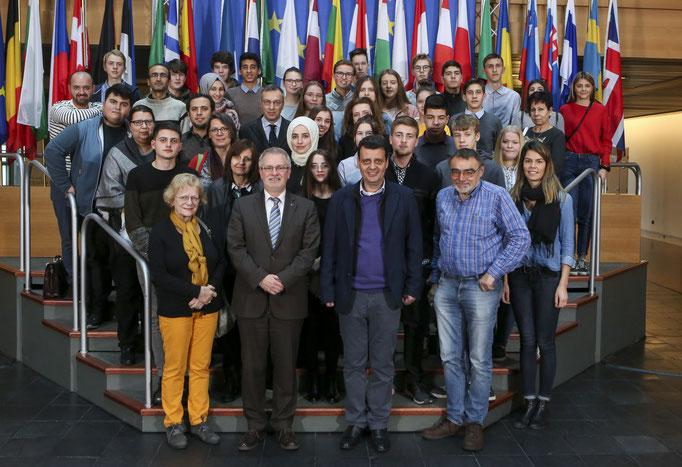 Besuch des Erasmus Goethe Gymnasiums am 14. März.
