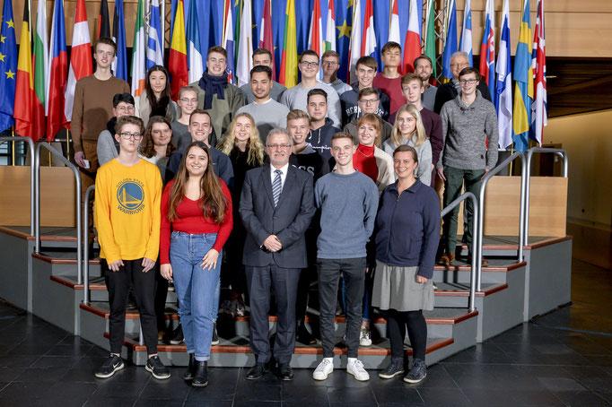 Besuch des Schulzentrums Marienhöhe am 15. Januar.