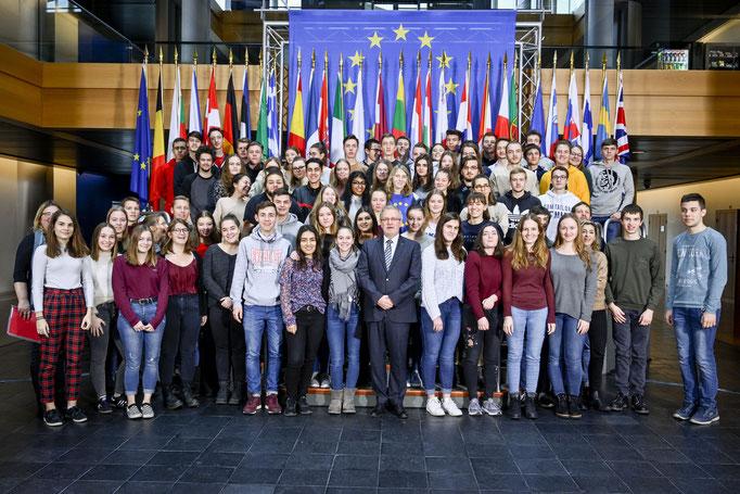 Besuch des Starkeburg Gynasiums am 17. Januar.