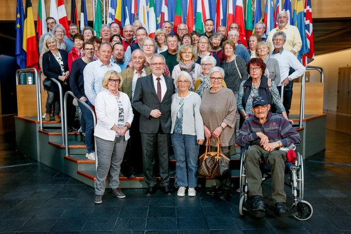 Besuch der CDU Darmstadt-Diebuerg am 15. April 2019.