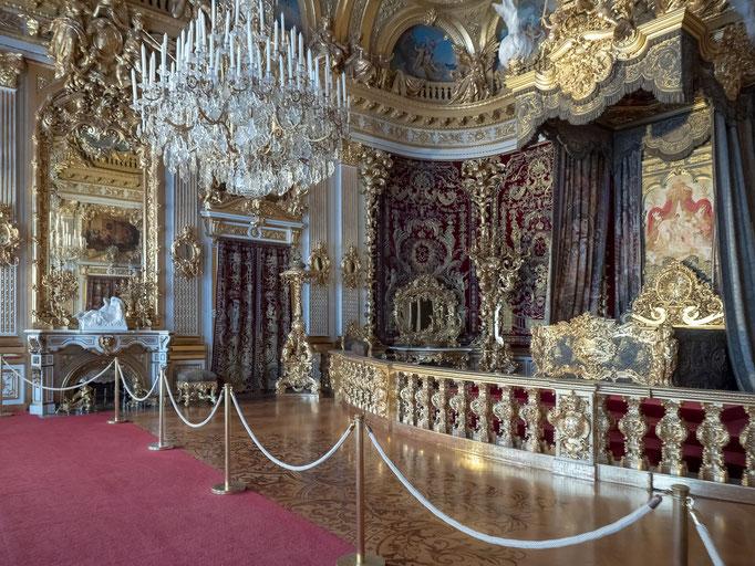 Das ofizielle Schlafzimmer des Königs