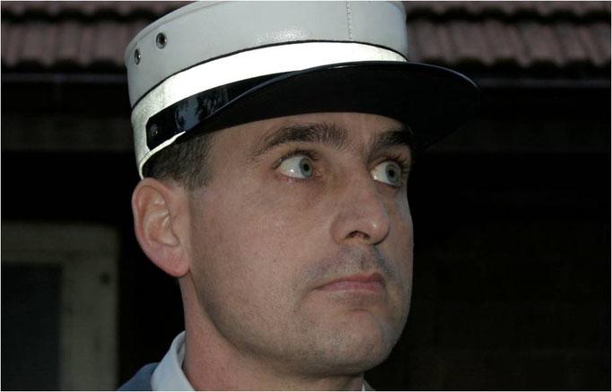 Severin Schwaller alias Polizist Köffer