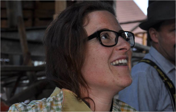 Monika Hartmann alias Frau mit Wägeli