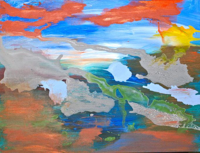 Herbst / Jahreszeiten Teil 1   80 cm x 60 cm   verkauft