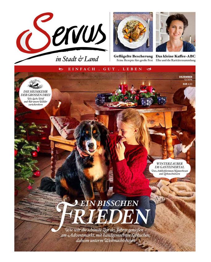 Servus Magazin Dez16 Schönes für Daheim