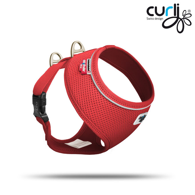 Curli Basic Air Mesh Red