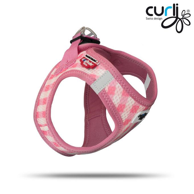 Curli Puppy Set Pink-Caro