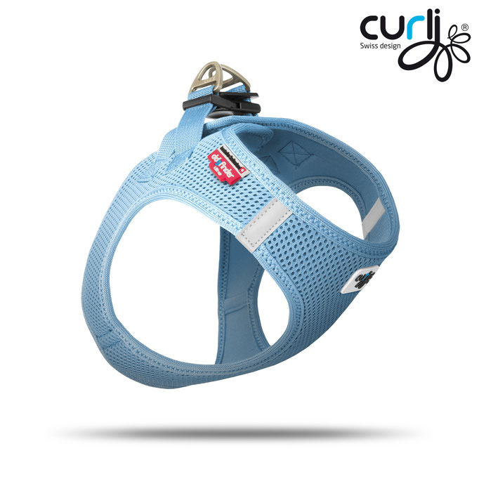 Curli Vest Air Mesh Skyblue