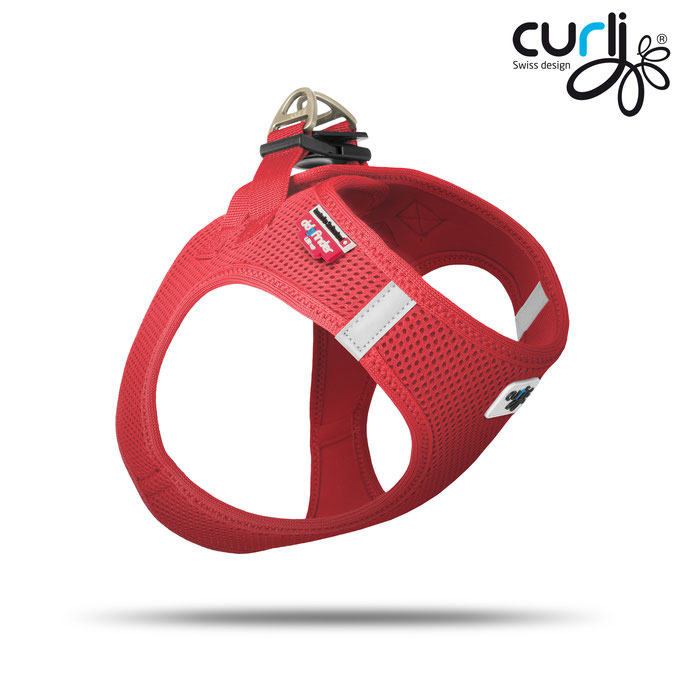 Curli Vest Air Mesh Red