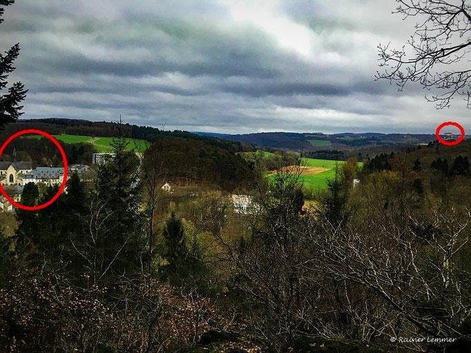Kloster Marienstatt und Hachenburger Schloß mit einem Blick!