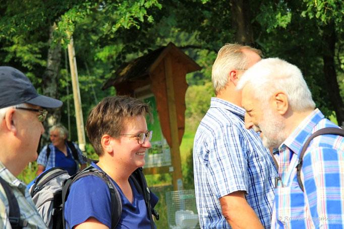 Verena und Paul im Gespräch