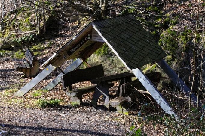 Rastplatz an der Schiefergrube Assberg