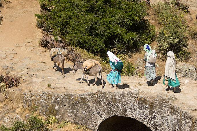 Debre Libanos - Pont Portugais