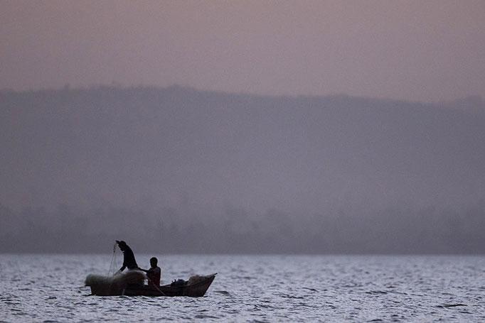 Lac Awasa - Pêcheurs