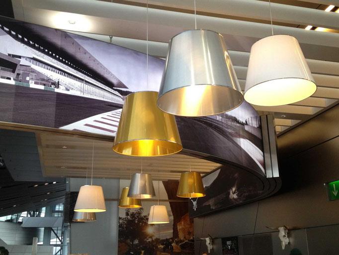 Hängeleuchten Metallic Design