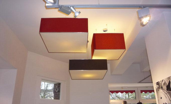 Moderne Deckenlampen für Ladenbeleuchtung