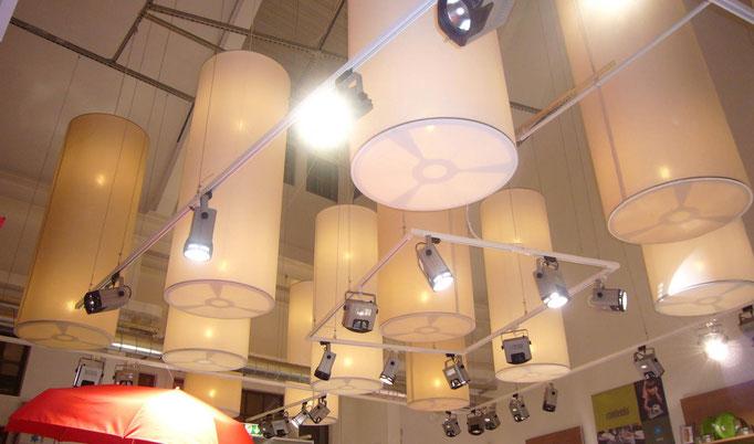 Objektleuchten für Messehallen