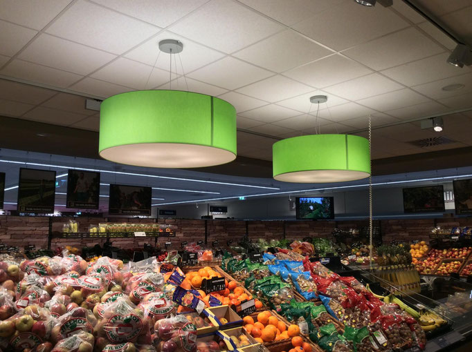 Deckenlampen für Supermärkte