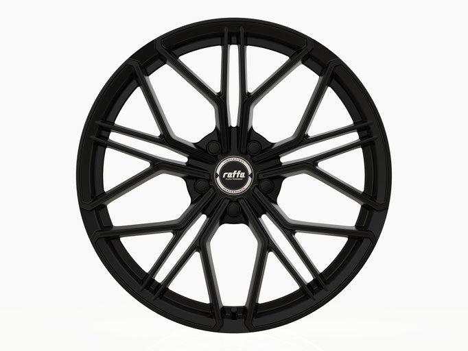 RAFFA WHEELS RF-02 MATT BLACK