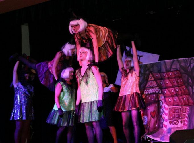 Auftritt 2014 mit dem Motto Hänsel & Gretel