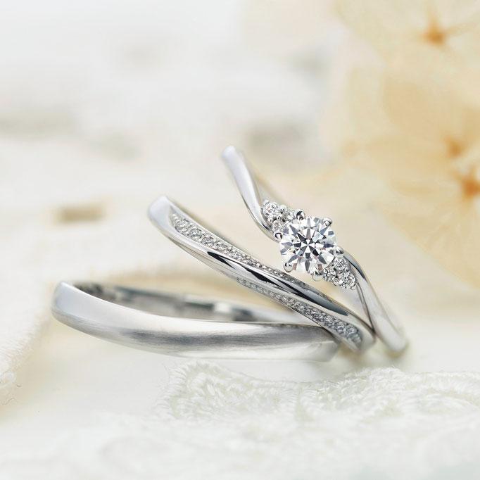 婚約指輪、セットリング、ヴィヴァ―ジュ1