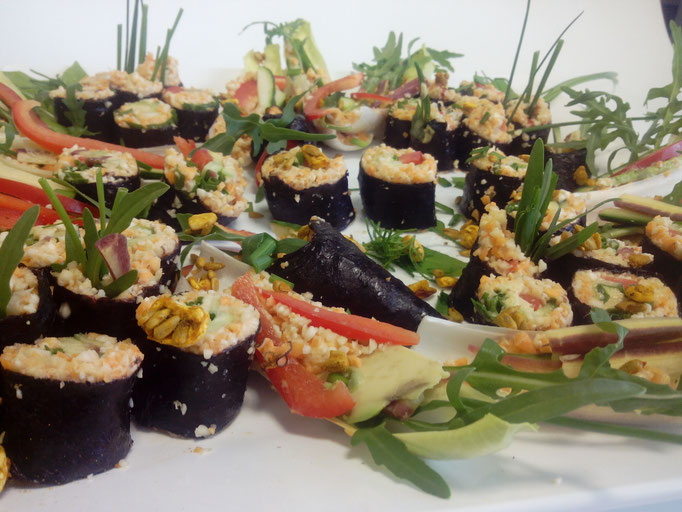 Rohkost Sushi