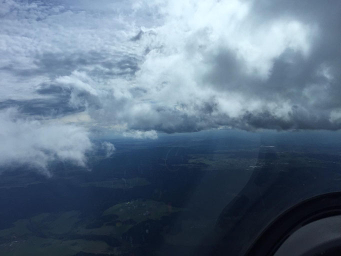 Bild vom Rückflug!