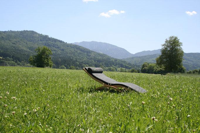 Relax Wellnessliege Außenbereich