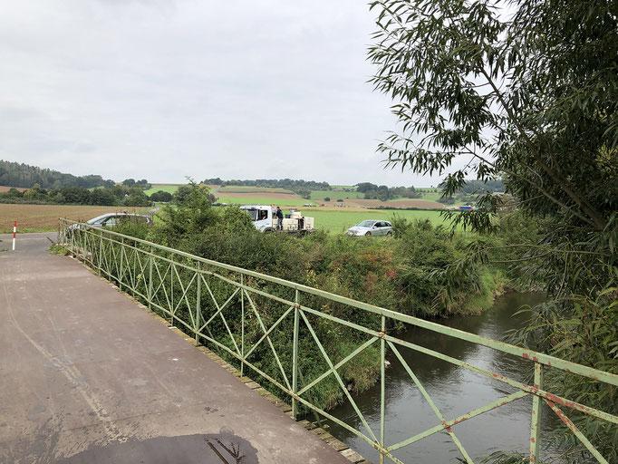 IG-Kinzig / Bachforellen Besatz September 2021