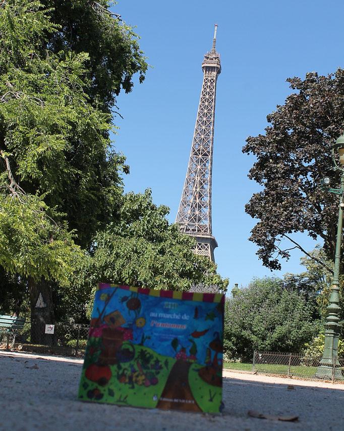 Zip au marché de l'automne tome 2 de la trilogie jeunesse illustrée par Cloé Perrotin écrite par Marie-Françoise Bongiovanni parue chez Benjulice Editions