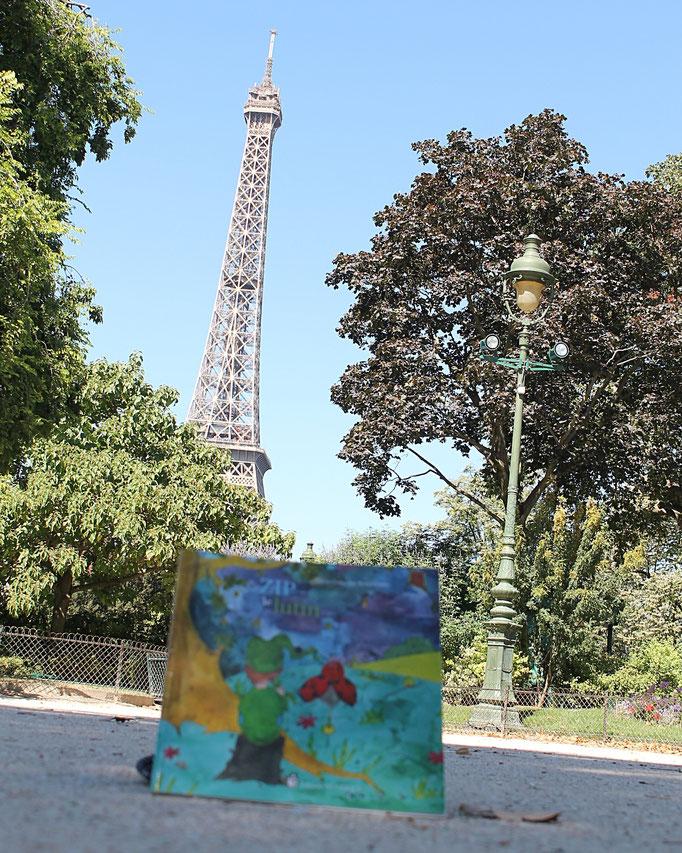 Zip le lutin tome 1 de la trilogie jeunesse illustrée par Cloé Perrotin écrite par Marie-Françoise Bongiovanni parue chez Benjulice Editions