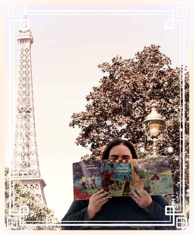 Une trilogie fantastique jeunesse se ballade à Paris et rencontre ses lecteurs avec l'illustratrice Cloé Perrotin