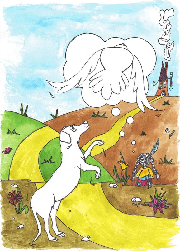 Illustration via If Association pour Handichiens