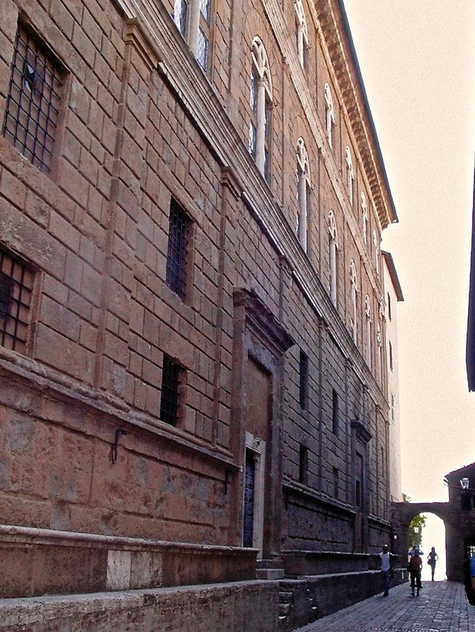 Palazzo Piccolomini, Pienza, Val d'Orcia, Siena, Italy, Toscana, Tuscany