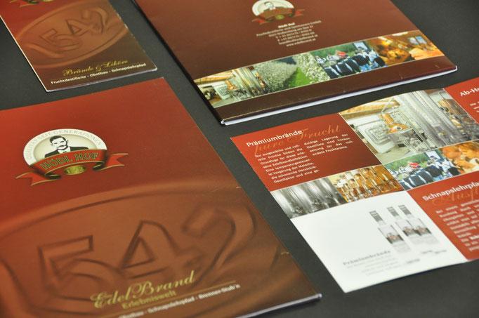 HÖDL HOF FRUCHTDESTILLERIE UND SPIRITUOSEN GMBH: Prospekte, Drucksorten, Etiketten & Packaging, u.v.m. © by dunstdesign.at