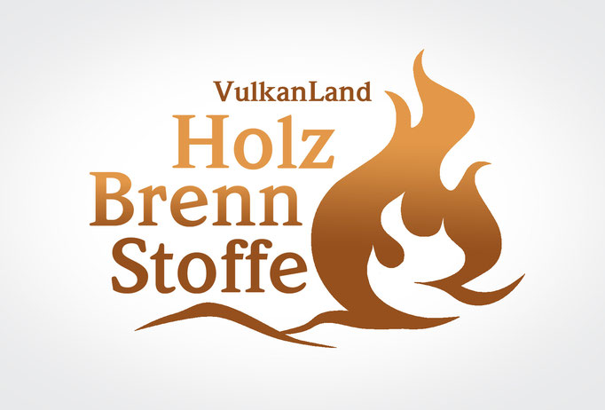 VULKANLAND HOLZBRENNSTOFFE: Corporate Design © by dunstdesign