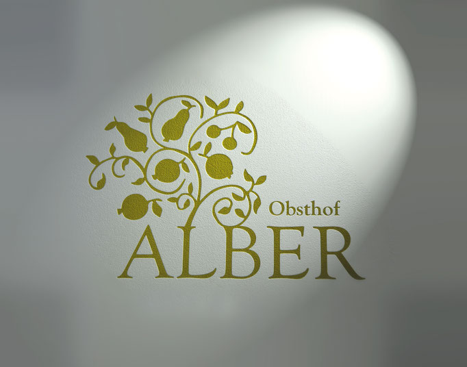 OBSTHOF ALBER: Corporate Design, Etikettendesign © by dunstdesign.at