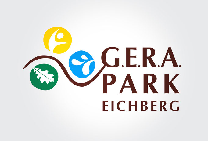 G.E.R.A. PARK EICHBERG: Corporate Design, Broschüre, Orientierungsplan, Beschilderung, Webdesign ©by dunstdesign.at