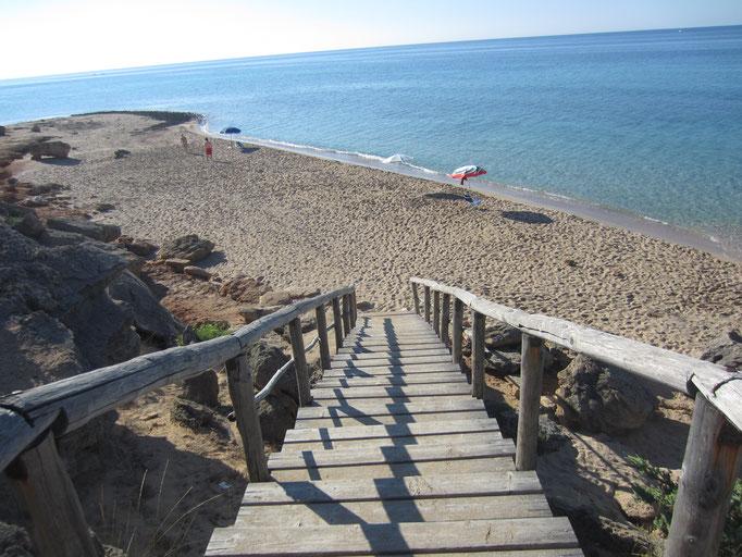etwas abgelegenere Buchten von San Pietro