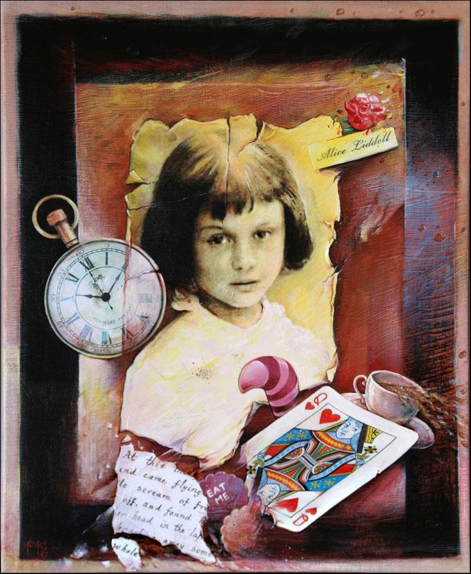 Portrait d'Alice - 46x38 cm - (disponible)